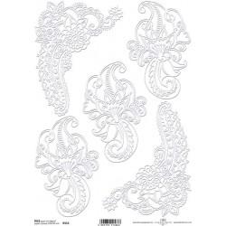 papier ryżowy R553