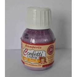 Stamperia farba confetti lilla