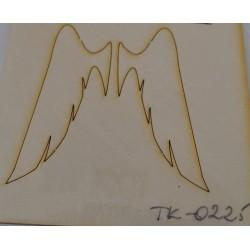wycinanka TK-0225 skrzydła