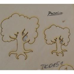 wycinanka TK-0151 drzewko