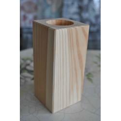 drew. świecznik duży kwadrat 6x6x13