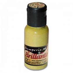 stamperia brokat brillantini ciepła żółć 20g K3GP0