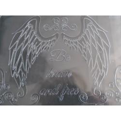 pentart szablon 3d skrzydła anioł 15*20 cm