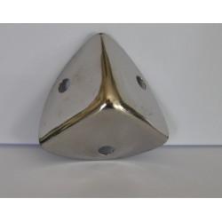 sz.metal narożnik 2,5*2,5 cm srebro