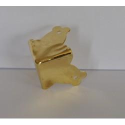 sz.metal narożnik 2*3 cm złoty