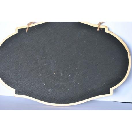 drew.deska z czarną tablicą dwustronna 26*17,7 cm