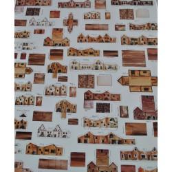 makieta kartonowa domki cod.00CA3000 format A-3
