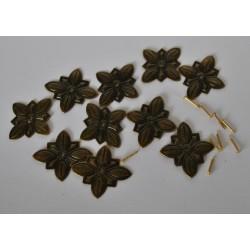 sz.metal gwóźdż dekoracyjny kwiat 2,8*2,8 cm