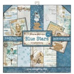 stamperia papier srap.zestaw 30*30 cm/ 10 BLUE STA