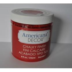 ***farby kredowe americana decor ADC07 czerwony