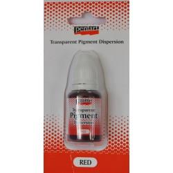 pentart pigment tranparent 20 ml czerwony