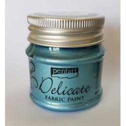 pentart farba delicate do tkanin 50 ml niebieskie