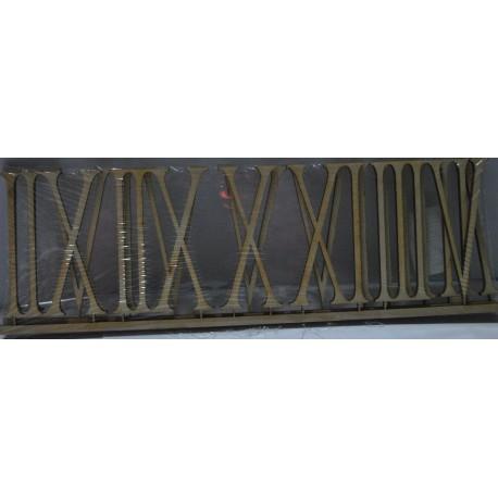 cyfry do zegara mdf 6 cm