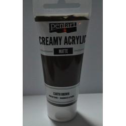 ***farba creamy mat heban 60 ml