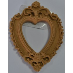 ***dekor ramka serce 7,5*5,5 cm
