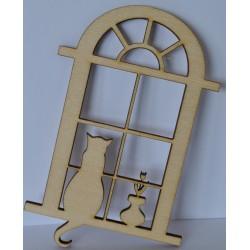 drew.mdf okno z kotami 4,5*7,5 cm
