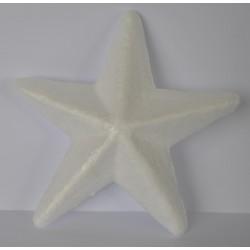 ***gwiazda styropian 10,5 cm