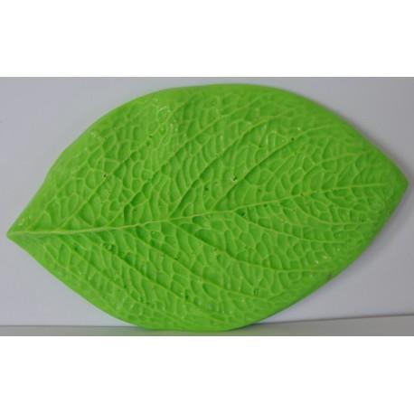 ***foamiran mold liść 10,5*6 cm