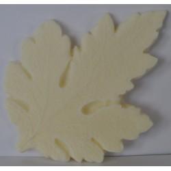 ***foamiran mold liść chryzantemy 9*6,5 cm