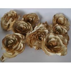***kwiaty natur.maniok 7cm/9szt