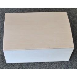 drew.szkatułka 18,5*15*8,5cm z wypukłym wiekiem