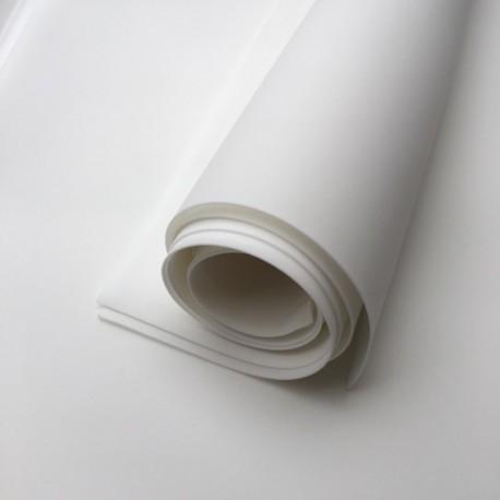 ***foamiran 30x35 cm czysty biały
