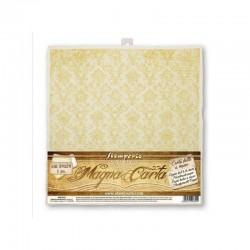 stamperia papier ręcznie czerp. 30*30 damask