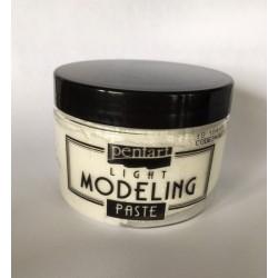 pentart pasta light modeling biała 150 ml