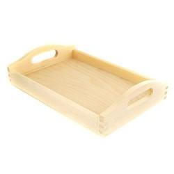 drew.taca drewniana 25*25*4,3 cm