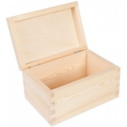 drew.szkatułka 18,0*14,6*8,3 cm zaokrąglone wieko