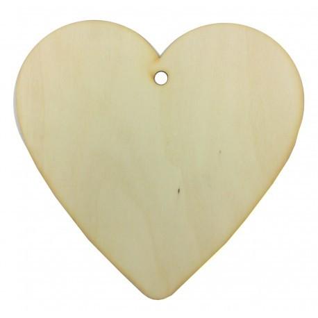drew.sklejka serce 15*15 cm