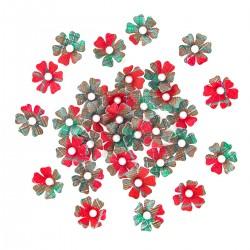 kwiaty papierowe 12mm-32szt