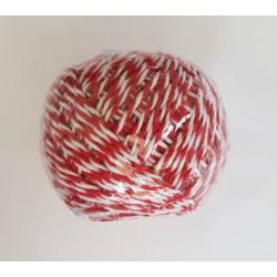 sznurek piekarski czerwony 70m