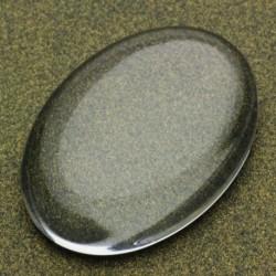 sz.metal kabaszon przeżroczysty 13*18 mm opk.4 szt