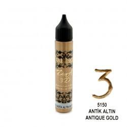 *** cadence konturówka perełki antyczne złoto 25ml