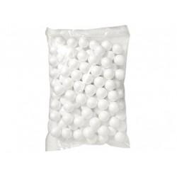 kulki styropianowe 8mm 10g białe
