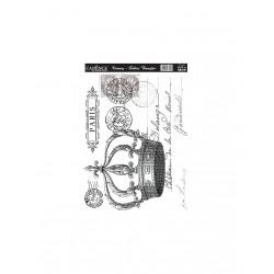 *** cadence transfer na tkaniny pocztówka 25x35cm