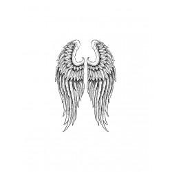 ***stempel gumowy 10*15 cm skrzydła anioła