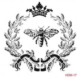 ***cadence szablon HDM-17 25*25 cm wieniec,korona