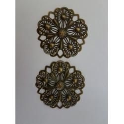 sz.metal koronka 4,8 cm opk.2 szt