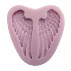 odlewy silikonowe skrzydła anioła 6x2,5cm