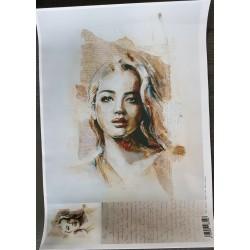 ***papier klasyczny portret 29*41 cm