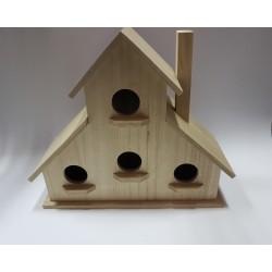 drew.domek dla ptaków pietrowy