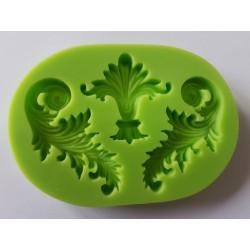 ***odlewy silikonowe 3-szt ornamenty 7*10 cm