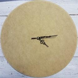drew.zegar mdf  40cm + wskazówki