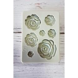 odlewy silikonowe róże