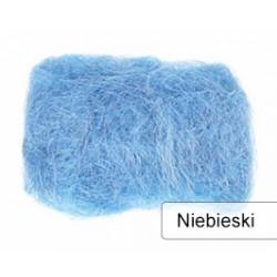 sizal kolor niebieski