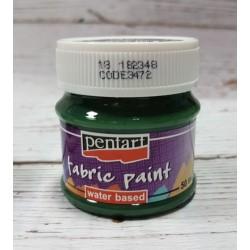 pentart farba do tkanin 50 ml sosna zielona