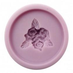 odlewy slkonowe różyczki 3,5*3,5 cm