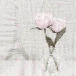 ***serwetka 33x33 V4 róża